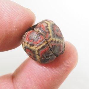 画像5: Ancient(古代)幾何紋モザイクビーズ ローマ期(前後1世紀)