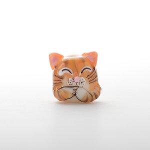 画像1: 新井克仁 「猫 とんぼ玉」
