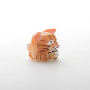画像4: 新井克仁 「猫 とんぼ玉」
