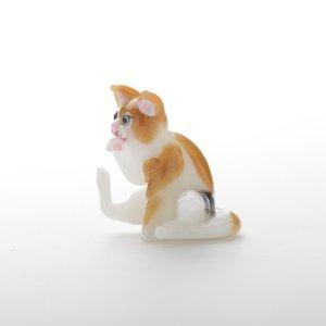 画像3: 新井克仁 「毛づくろい猫」