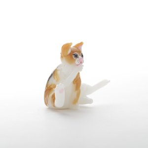 画像5: 新井克仁 「毛づくろい猫」