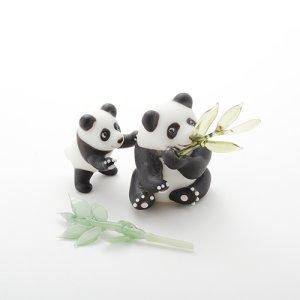 画像2: 新井克仁 「親子パンダ」