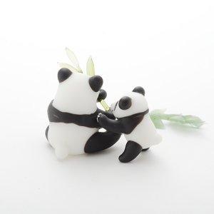 画像3: 新井克仁 「親子パンダ」