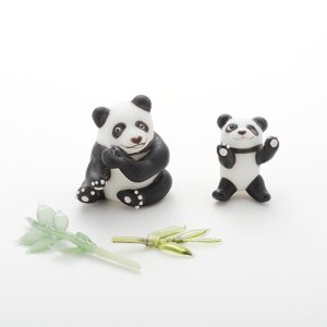 画像5: 新井克仁 「親子パンダ」