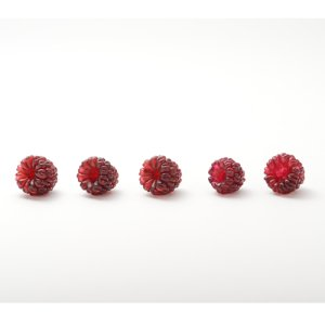 画像2: Elizabeth Johnson  「Glass Bead Raspberry Red」