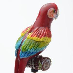 画像2: kim fields キム・フィールズ「Red and green Macaw」