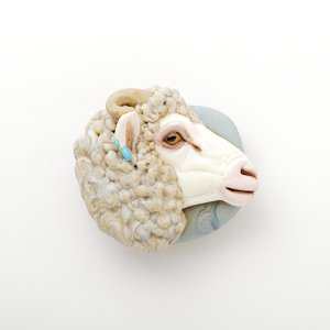画像1: Joy Munshower 「Woolly Ram Sheep」