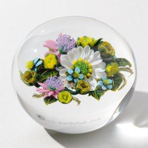 画像2: ケン・ローゼンフェルド Full Size Floral Bouquet with Yellow Rose Canes (白い花と黄色いバラのブーケ)