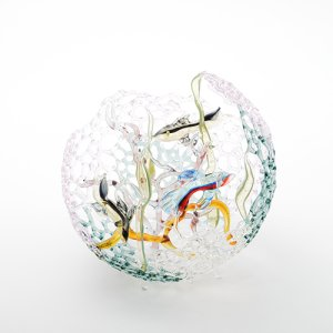 画像1: 齋藤直 「Glass aquarium(B)」
