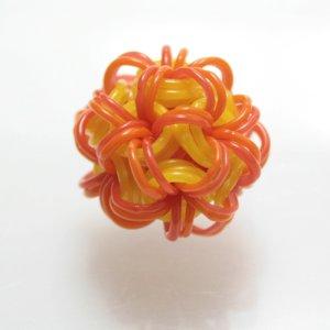 画像1: キム・エドワーズ ガラスのチェーンメイルボール