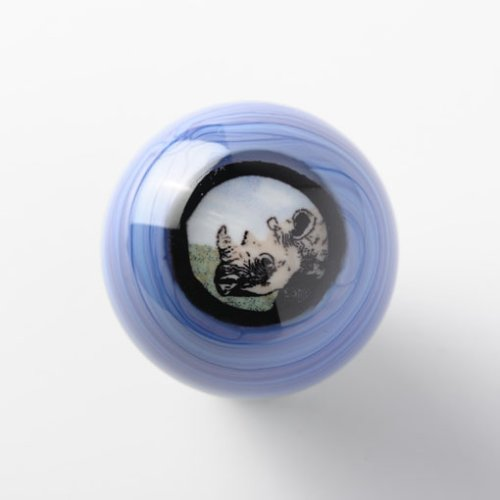 作品について・その他画像1: ザカリー・ジョーゲンソン 「Rhino Mini Murrine Marble」